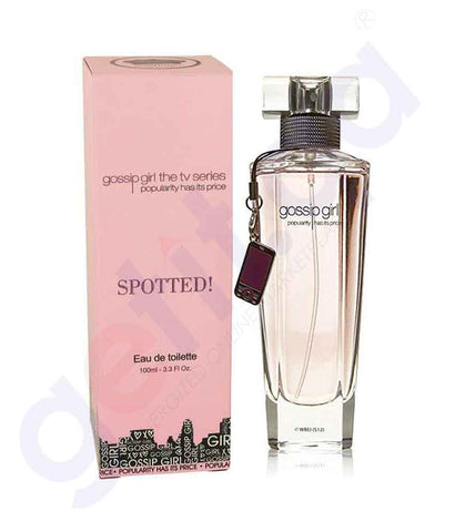GOSSIP GIRL PINK SPOTTED  EDT 100ML FOR WOMEN