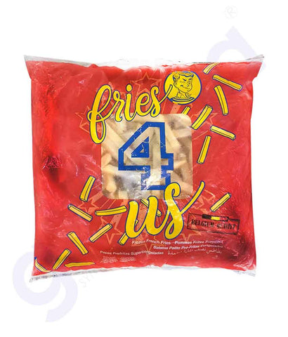 4 US FROZEN FRENCH FRIES 9MM 1KG