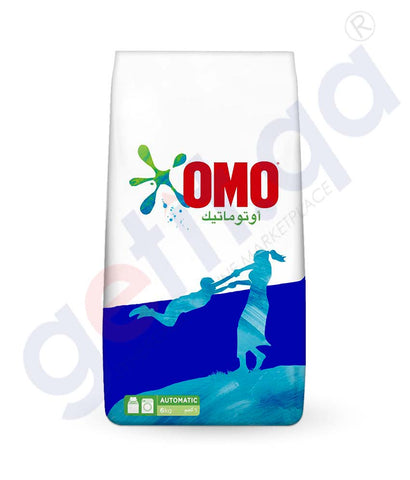 Laundry Detergents - OMO ACTIVE AUTO FABRIC CLEANING POWDER -  6KG