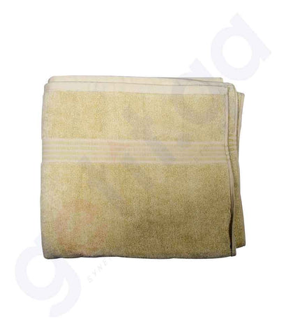 Buy Kingston Bath Towel 84x150cm Coffee Brown Price Online in Doha Qatar