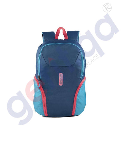 GETIT.QA | Buy American Tourister GAT BFF Backpack 01 Navy/Red Doha Qatar