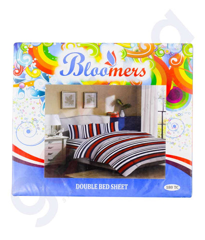 Buy Bloomers Double Bed Sheet Price Online in Doha Qatar