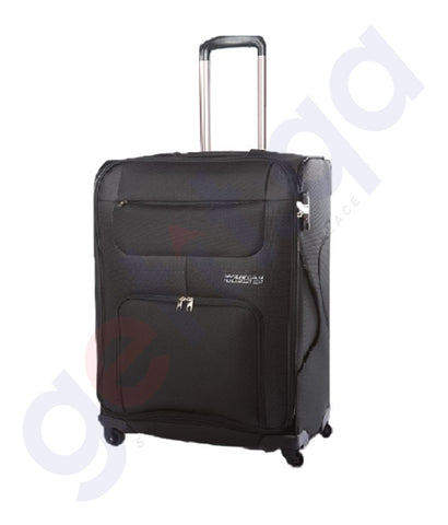 American Tourister GAT104LUG00426 Mv Plus Spin Soft 68cm Black price online in doha qatar