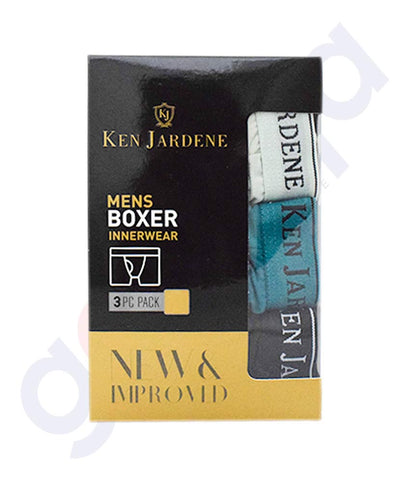 Buy Ken Jardene New Improved Mens Boxer 3pcs in Doha Qatar