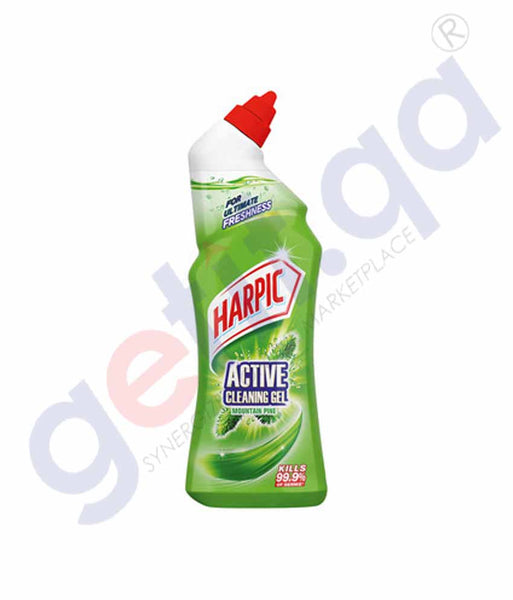 HARPIC ACTIVE CLEANING GEL MOUNTAIN PINE 750ML