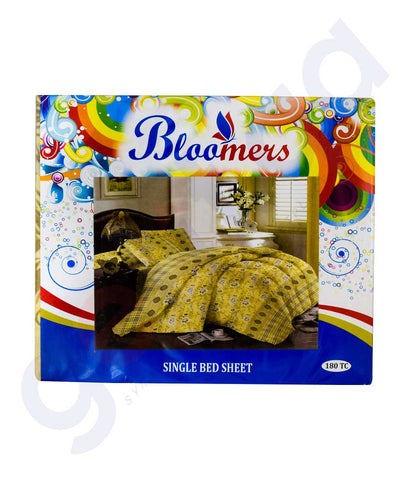 Buy Bloomers Single Bed Sheet Price Online in Doha Qatar