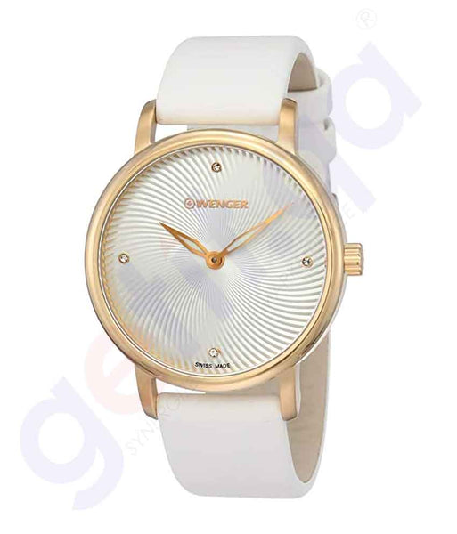 GETIT.QA | Buy Wenger Urban Donnissima Women Watch 01.1721.101 Doha Qatar