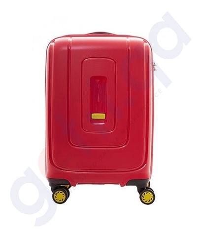 Buy American Tourister Lightrax Red 55cm Online Doha Qatar