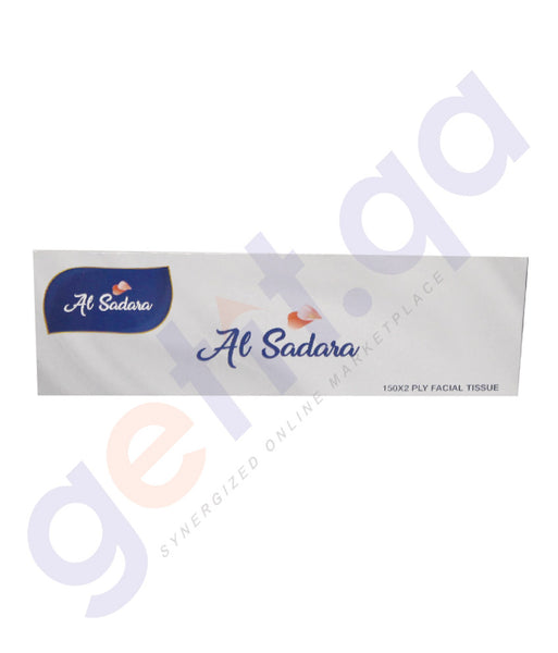 Buy Al Sadara Facial Tissue 150 Sheets- 2Ply 1 Piece & 5 Piece Pack Online in Doha Qatar