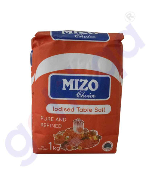 GETIT.QA | Buy Mizo Choice Iodized Salt 1kg India Online in Doha Qatar