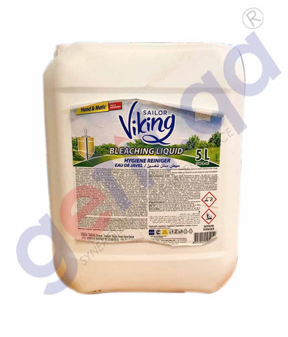Buy Sailor Viking Bleach Liquid White Cloth Surface 5L Doha Qatar