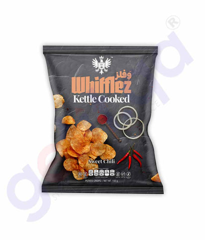 Buy Whifflez Kettle Chips Sweet Chili 150g Price Doha Qatar