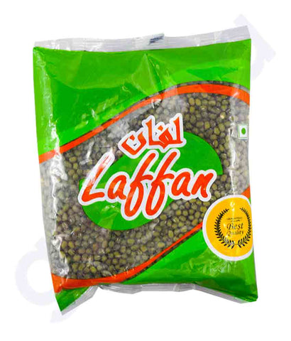 Buy Best Quality Laffan Green Moong Whole 500g and 1kg Online Doha Qatar