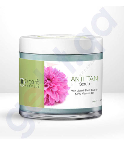 Buy Organic Harvest Anti-Tan Scrub Online in Doha Qatar