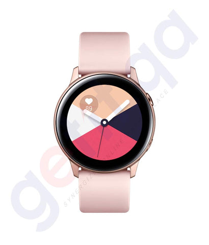 Buy Samsung Galaxy Watch Active Rose Gold Online Doha Qatar