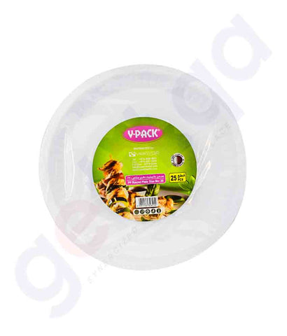 Buy V-Pack Round Plate Size No 26- 25pcs/Pkt in Doha Qatar
