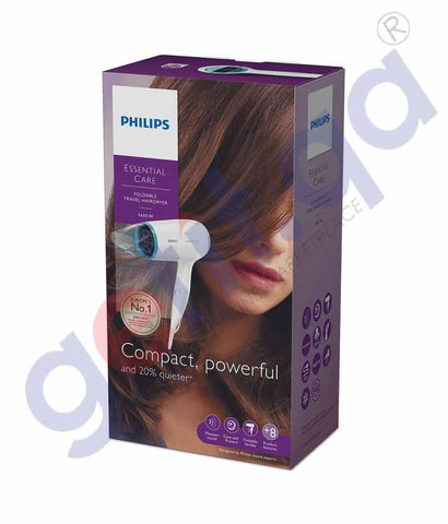 GETIT.QA | Buy Philips Travel Hair Dryer BHD006/03 Online Doha Qatar