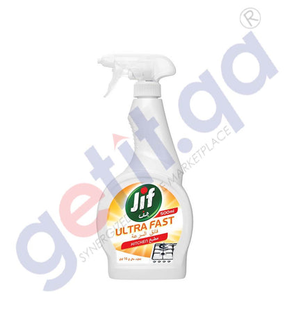 Buy Jif 500ml Ultra Fast Kitchen Cleaner Online Doha Qatar