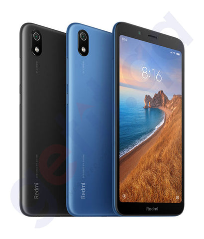 Buy Xiaomi Redmi 7A 2gb 16gb Black/ Blue Price Online in Doha Qatar
