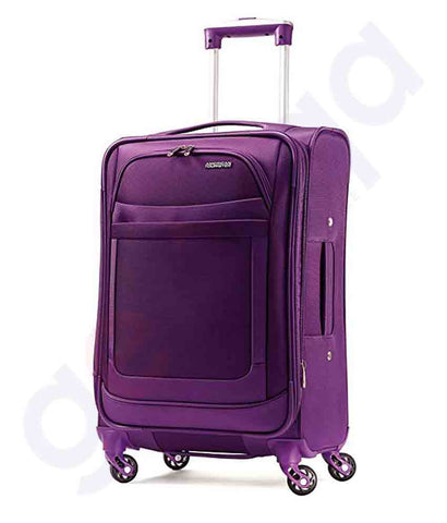 Buy American Tourister Jamaica Spinner 58cm Purple Doha Qatar