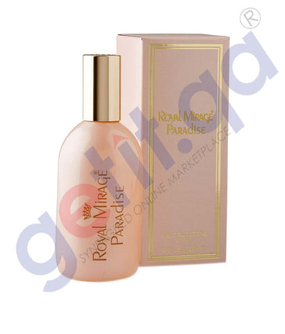 Buy Royal Mirage Paradise 120ml Price Online in Doha Qatar