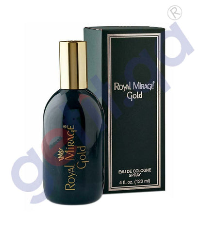 Buy Royal Mirage Gold 120ml Price Online in Doha Qatar