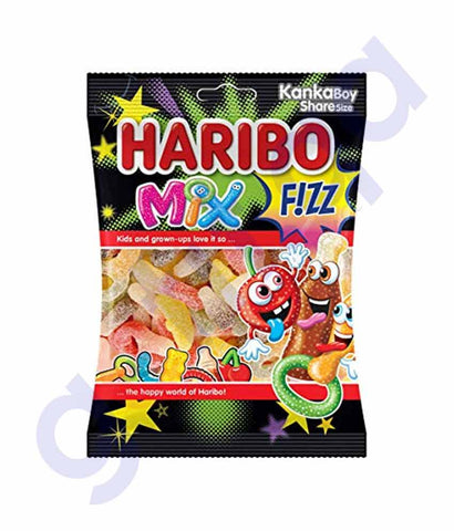 HARIBO FIZZ MIX 70 GM