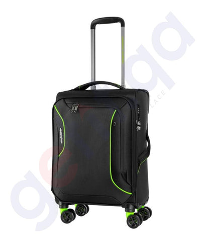 Buy American Tourister Applite 55cm Black Green Doha Qatar