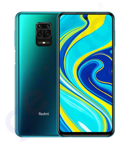 Buy Redmi Note 9 Pro- 6gb 128gb Tropical Green Price Online in Doha Qatar