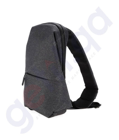 Buy Xiaomi City Sling Bag Dark Grey Price Online in Doha Qatar