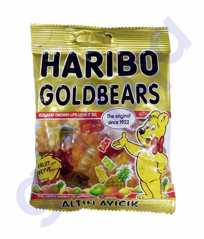 HARIBO GOLD BEARS 80GM