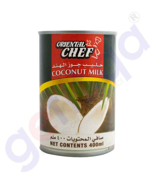 GETIT.QA | Buy Oriental Chef Coconut Milk 400ml Online in Doha Qatar