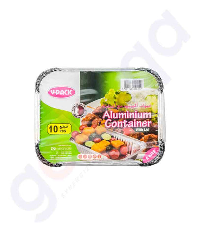 Buy V-Pack Aluminium Container A8325 Online in Doha Qatar