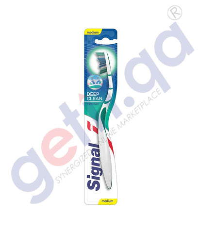 BUY BEST PRICED SIGNAL TOOTHBRUSH DEEP CLEANING V-BRISTLES IN DOHA QATAR