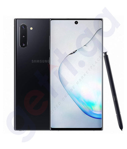 Buy Samsung Galaxy Note 10 Aura Black Price Online in Doha Qatar