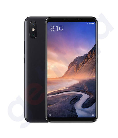 BUY XIAOMI REDMI MAX 3-4GB RAM-64GB-4G LTE BLACK ONLINE IN QATAR