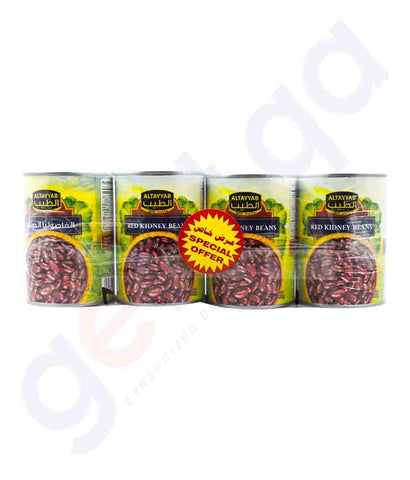 Buy Al-Tayyab Red Kidney 4x400gm Promo Online in Doha Qatar