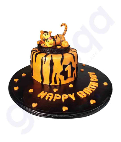Buy Apple Kitchen & Sweets Custom Cakes 1.5kg in Doha Qatar