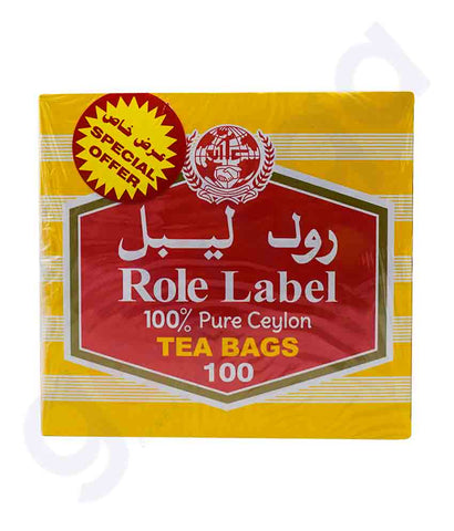 Buy Role Label Tea Bag 2x200gm Price Online in Doha Qatar
