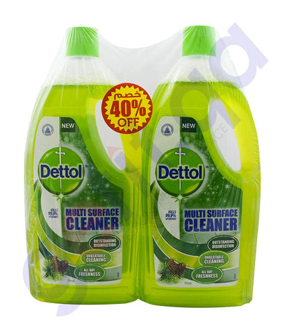 Buy Dettol MPC Pine 1L TP 40% Off Price Online Doha Qatar