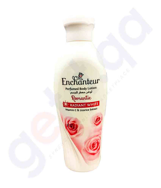 ENCHANTEUR WHITENING LOTION ROMANTIC