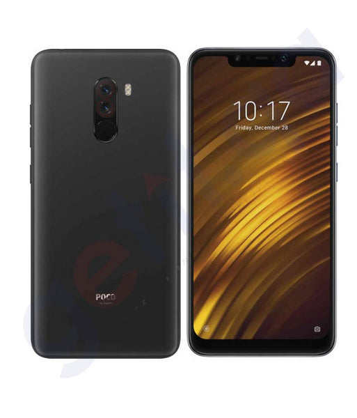BUY XIAOMI REDMI POCO F1-6GB RAM- 64GB-4G LTE BLACK ONLINE IN QATAR