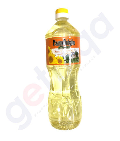 Buy Farm Origin Sunflower Oil 1 Litre Online in Doha Qatar