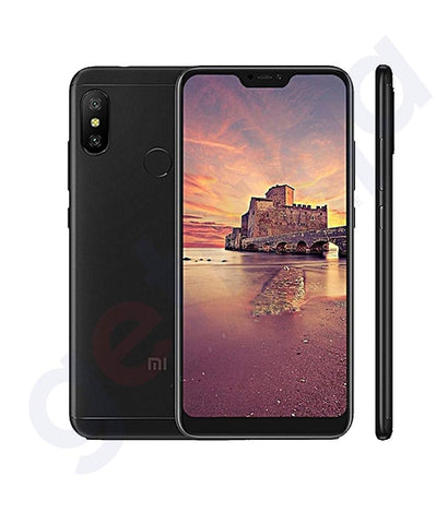 BUY XIAOMI REDMI NOTE 6 PRO 4GB RAM-64GB- 4G LTE BLACK IN QATAR