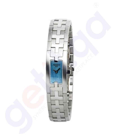 GETIT.QA | Buy Tissot Blue Steel Ladies Ø13.5 MM T50.1.185.40 Doha Qatar