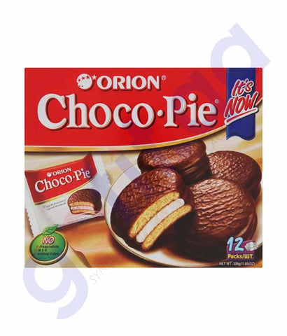 ORION CHOCO-PIE 12 PCS-360 GMS