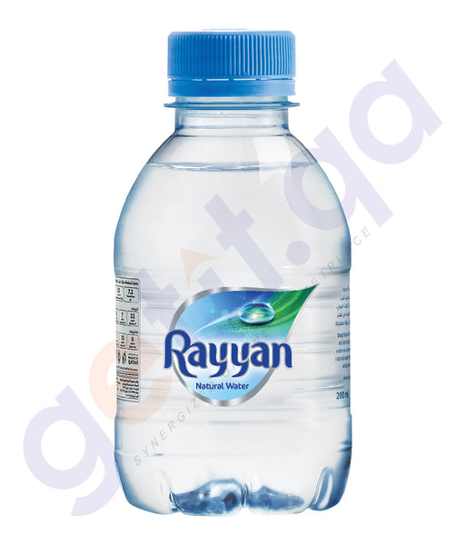 RAYYAN NATURAL WATER 200ML 1X24 BOX