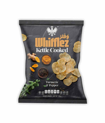 Request Quote Whifflez Kettle Turmeric & Pepper 150gm Doha Qatar