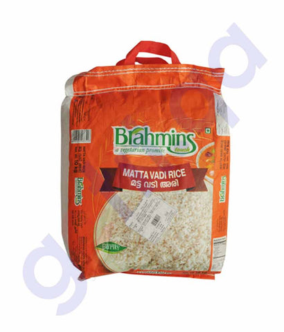 Buy Brahmin's Matta Vadi Rice 5kg Bag Online in Doha Qatar