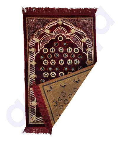 Buy Prayer Mat Y5 70*110cm Assorted Online in Doha Qatar